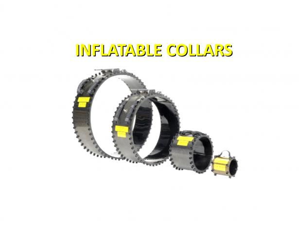 Inflatable collars / Límce pre kontrolu.